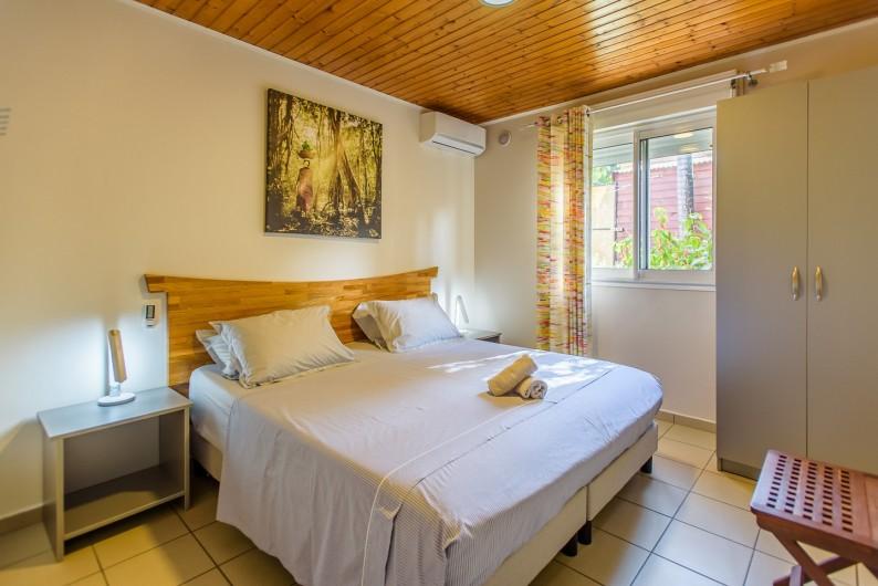 Location de vacances - Bungalow - Mobilhome à Langevin - COIN DETENTE ET COIN REPAS