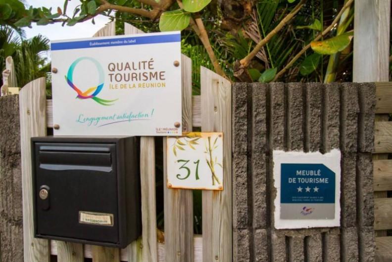 Location de vacances - Bungalow - Mobilhome à Langevin - SIGNALÉTIQUE SUR VOIE PUBLIQUE