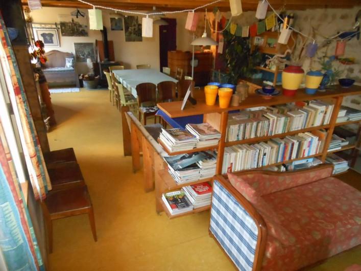 Location de vacances - Gîte à Gras - La salle à manger