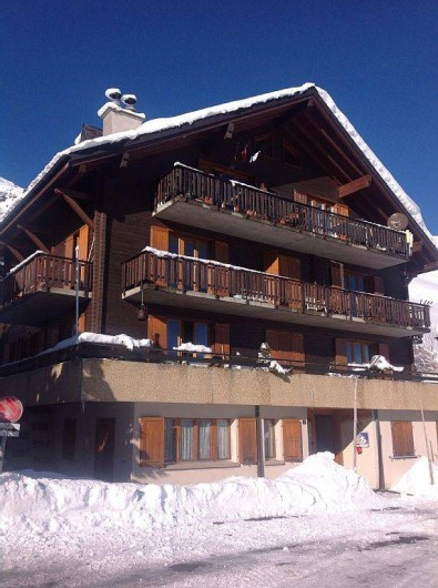 Location de vacances - Studio à Val-d'Illiez