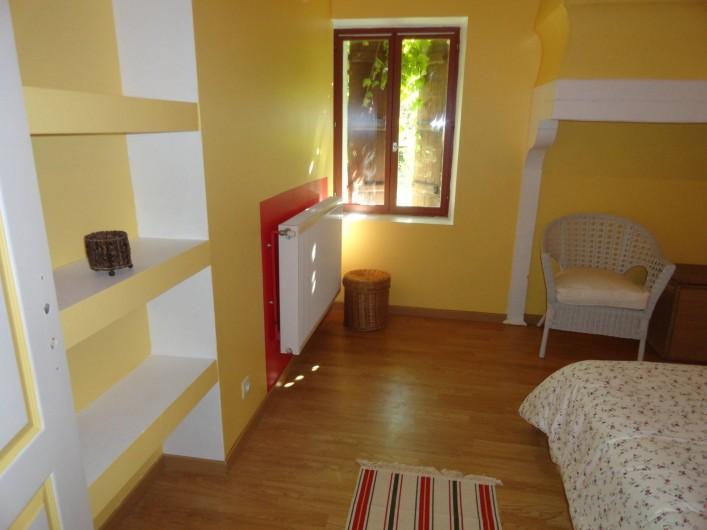 Location de vacances - Appartement à Pouillon - La chambre.
