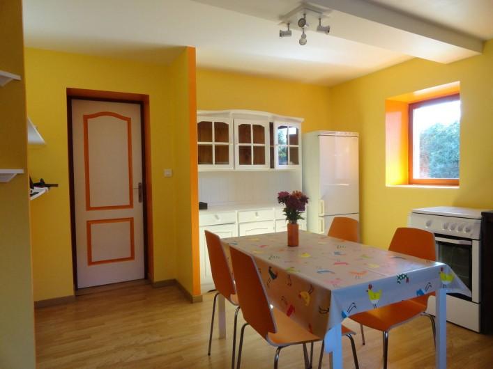 Location de vacances - Appartement à Pouillon - La cuisine.