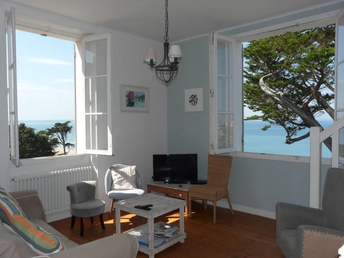 Location de vacances - Maison - Villa à Pléneuf-Val-André - salon