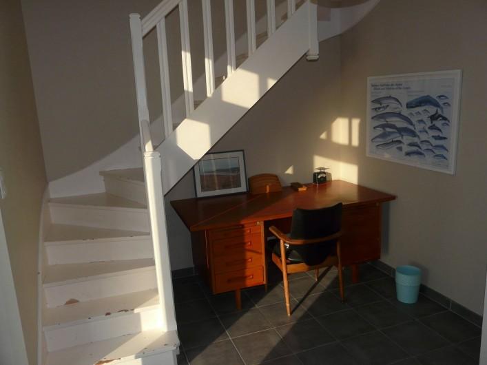 Location de vacances - Maison - Villa à Pléneuf-Val-André - chambre bureau