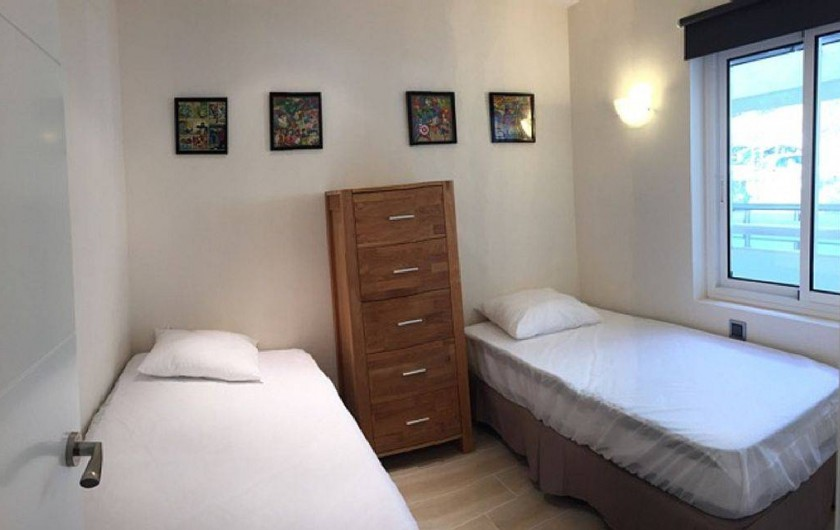 Location de vacances - Appartement à Salou - Chambre 2 lits 90
