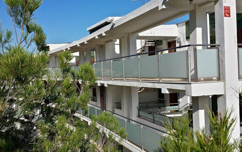Location de vacances - Appartement à Salou - Résidence en 1ere ligne avec accès direct à la baignade