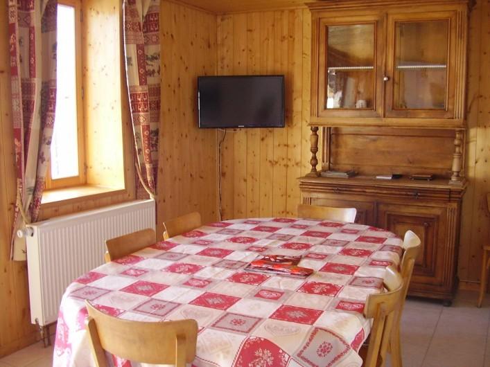 Location de vacances - Appartement à Combloux - télévision tnt