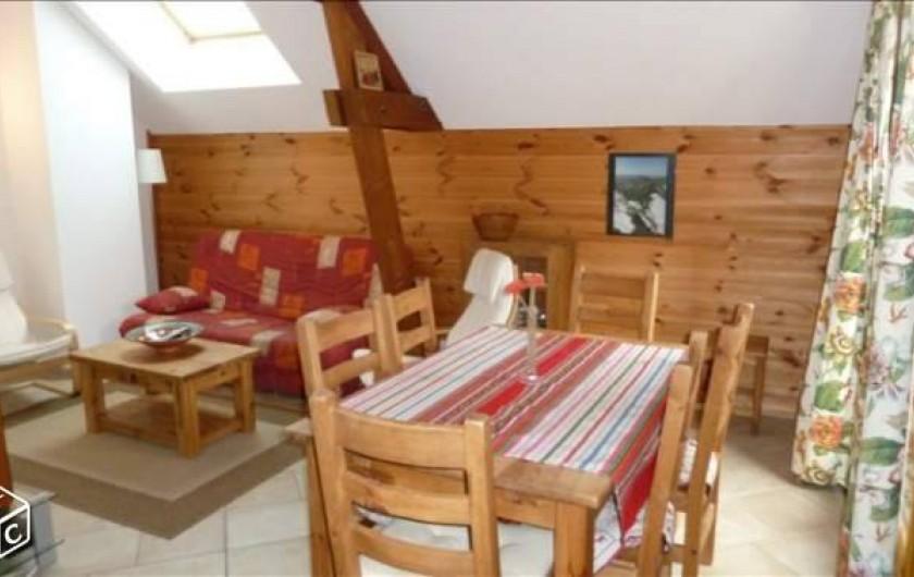 Location de vacances - Chalet à Crévoux - Le séjour / salon