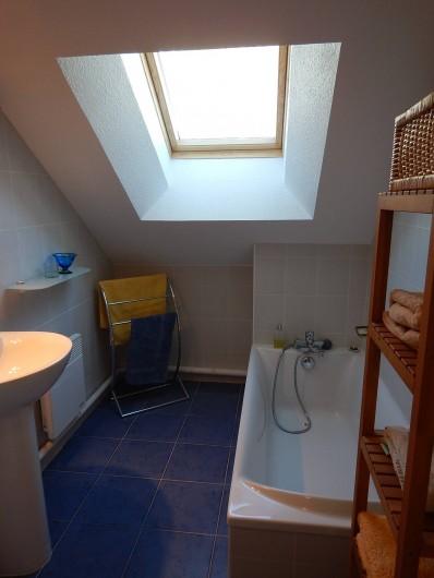Location de vacances - Chalet à Crévoux - La salle de bains