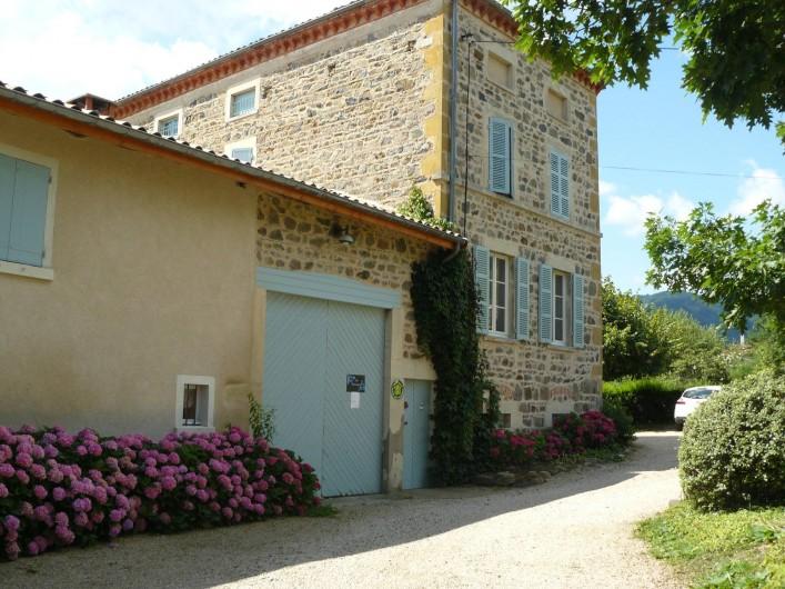 Location de vacances - Gîte à Le Glabat - Maison d'hôtes Les Hortensias