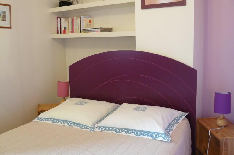 Location de vacances - Gîte à Le Glabat - Chambre gite  couchage 140 x 190