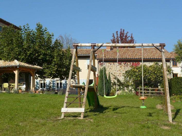 Location de vacances - Gîte à Le Glabat - Jeux extérieurs