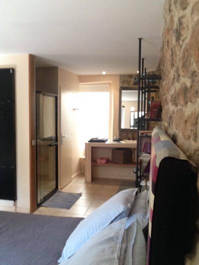 Location de vacances - Chambre d'hôtes à Rosières - Salle de bain chambre Imagin'Air