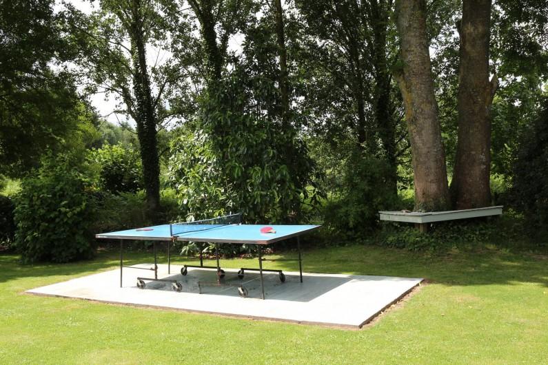 Location de vacances - Gîte à Saint-Pierre-de-Plesguen - Table tennis area