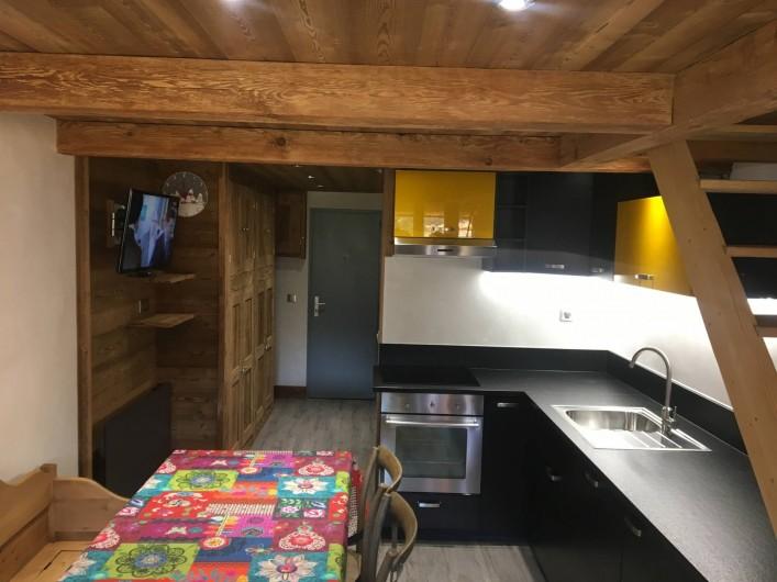 Location de vacances - Appartement à Val-d'Isère - Salon