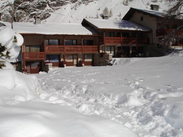 Location de vacances - Appartement à Val-d'Isère - Résidence hiver