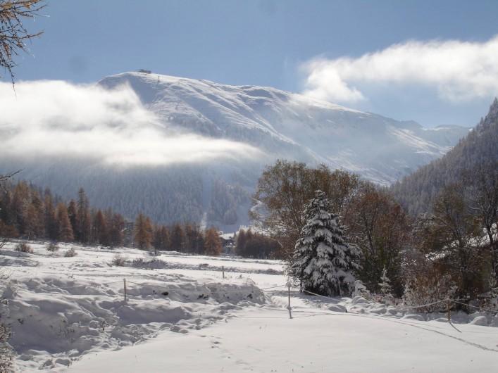 Location de vacances - Appartement à Val-d'Isère - Vue hiver