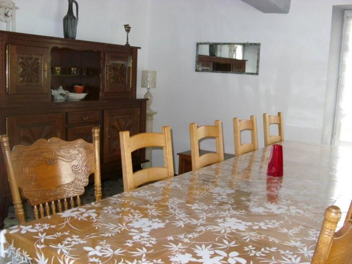 Location de vacances - Chambre d'hôtes à Les Essarts - salle à manger
