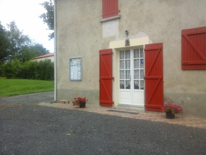 Location de vacances - Chambre d'hôtes à Les Essarts - l'accueil des chambres d'hôtes
