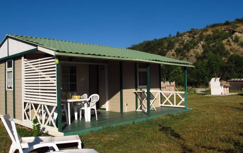 Location de vacances - Chalet à Lagrand - nos bungalows 2 ou 4 personnes