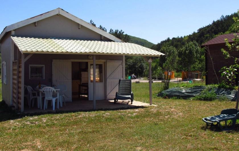 Location de vacances - Chalet à Lagrand - nos chlalets 2 ou 4 pers