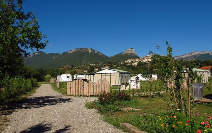 Location de vacances - Chalet à Lagrand