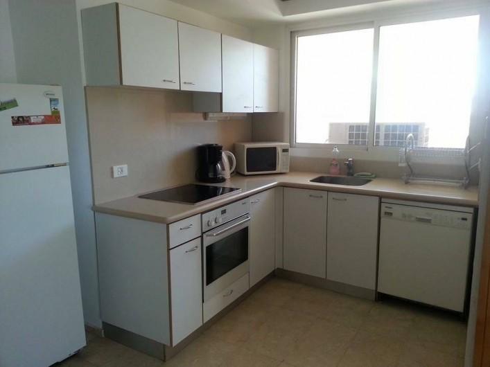 Location de vacances - Appartement à Eilat - cuisine