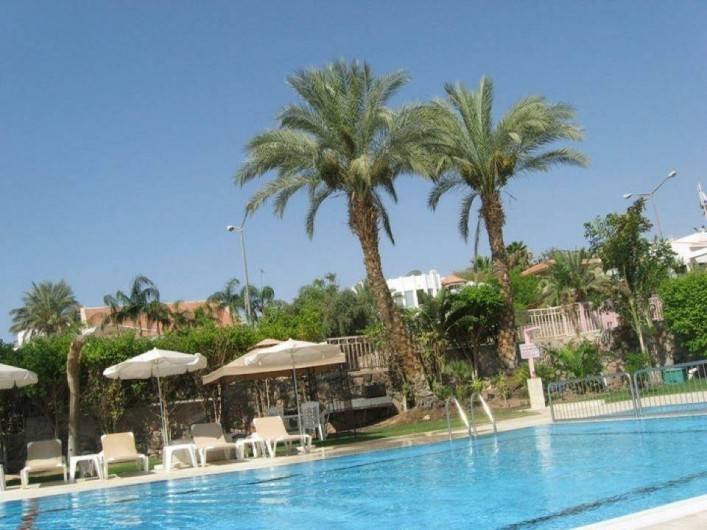 Location de vacances - Appartement à Eilat - piscine