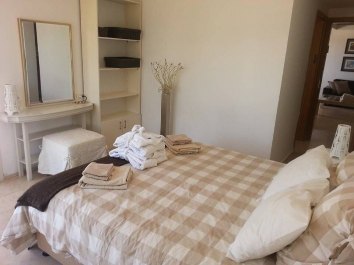 Location de vacances - Appartement à Eilat - chambre 1 lit double
