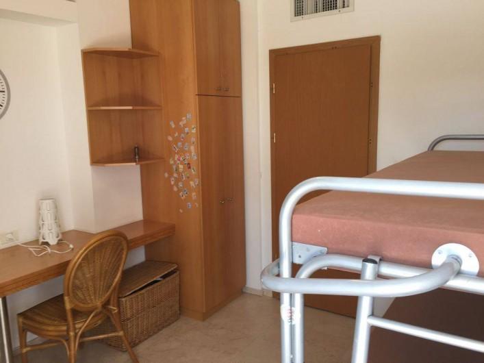 Location de vacances - Appartement à Eilat - Chambre 3 2 lits simples ou 1 lit double