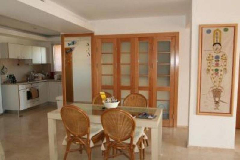 Location de vacances - Appartement à Eilat - salle à manger