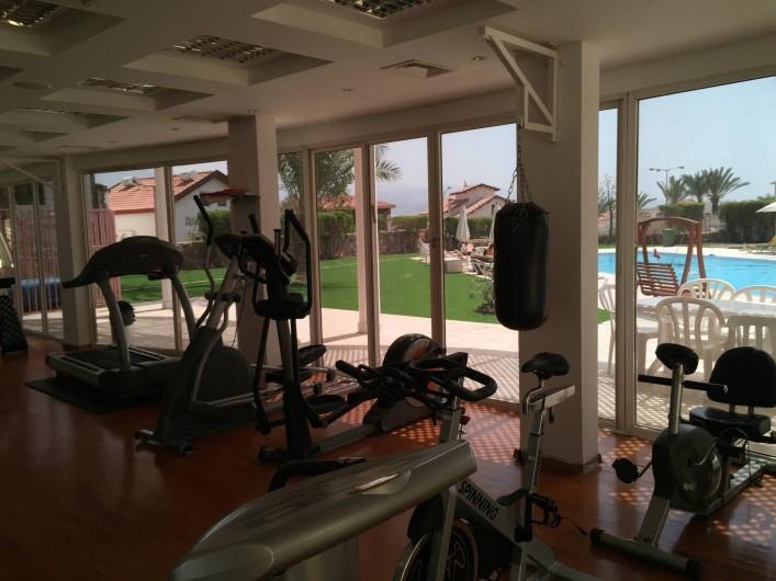 Location de vacances - Appartement à Eilat - salle de sport