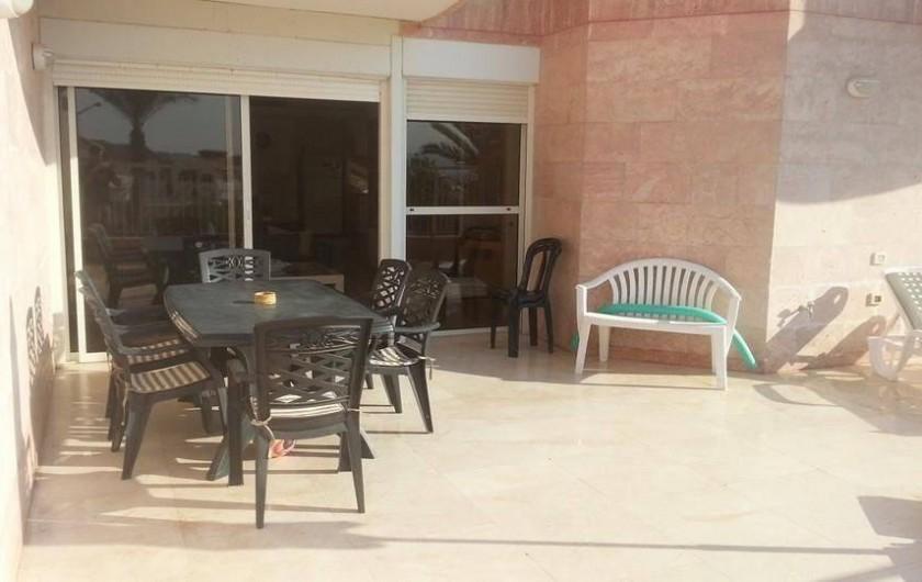 Location de vacances - Appartement à Eilat - terrasse
