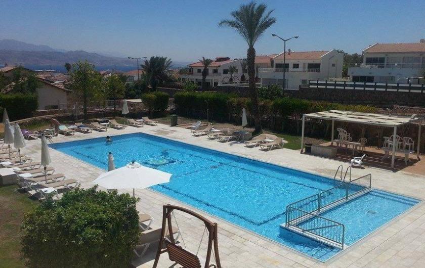 Location de vacances - Appartement à Eilat - vue de la terrasse