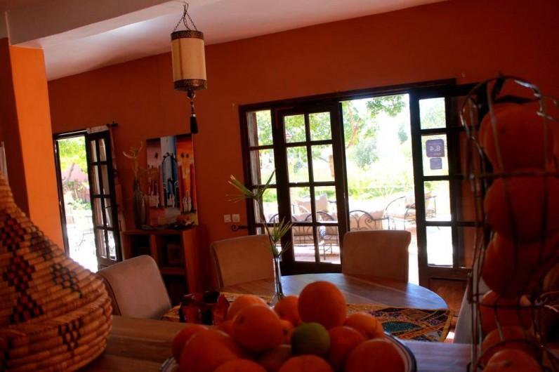 Location de vacances - Chambre d'hôtes à Agadir - salle a manger