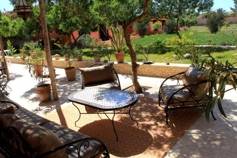 Location de vacances - Chambre d'hôtes à Agadir - coin detente