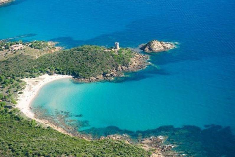 Location de vacances - Appartement à Sainte-Lucie de Porto-Vecchio - Plage de FAUTEA - moins de 10 min du logement