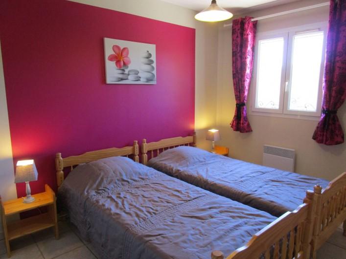 Location de vacances - Villa à Bagnols-en-Forêt - Chambre a coucher 2