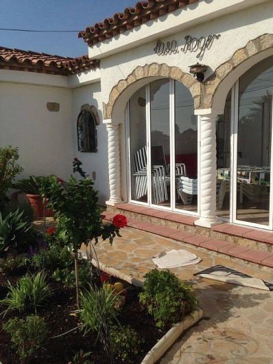 Location de vacances - Villa à Miami Platja - A l'entrée de la casa Roger