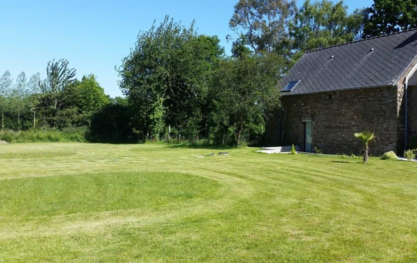 Location de vacances - Gîte à Epiniac - Jardin Garden