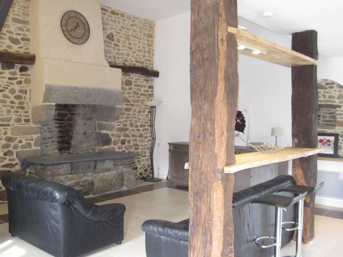 Location de vacances - Gîte à Epiniac - Séjour Living Room