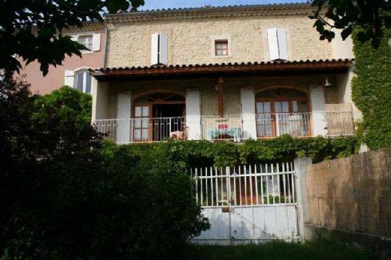 Location de vacances - Maison - Villa à Le Pègue