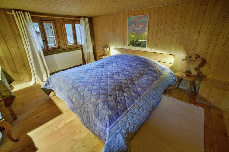 Location de vacances - Chalet à Les Diablerets - Chambre Edelweiss pour 3 personnes maximum