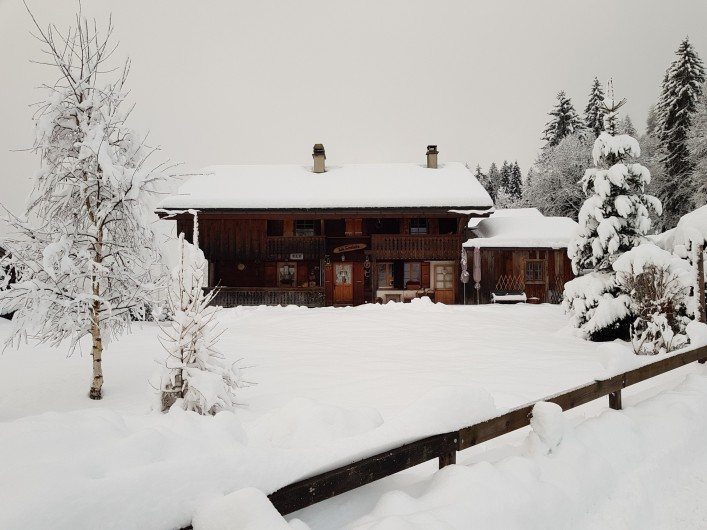 Location de vacances - Chalet à Les Diablerets - Chalet la Croisée