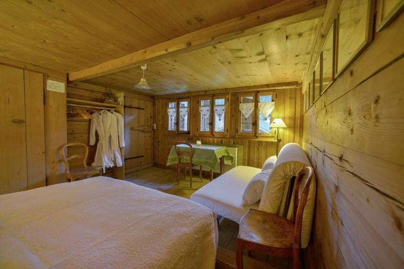 Location de vacances - Chalet à Les Diablerets - Chambre Crocus (maximum 4 persones)