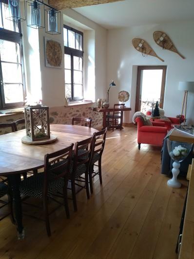 Location de vacances - Maison - Villa à Puyvalador - pièce à vivre