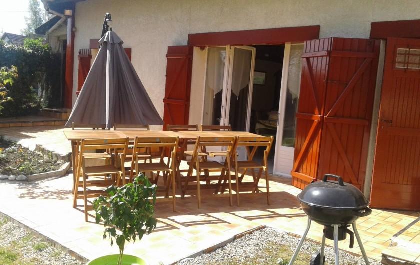 Location de vacances - Gîte à Tours-en-Vimeu - la terrasse