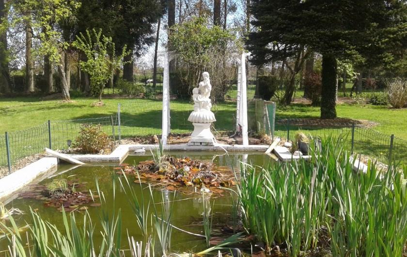 Location de vacances - Gîte à Tours-en-Vimeu - le bassin