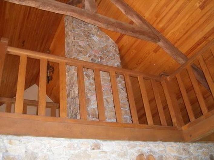 Location de vacances - Gîte à Laguenne - Une Mezzanine surplombe le cantou