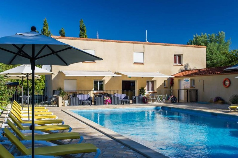 Location de vacances - Bungalow - Mobilhome à Céret - Piscine